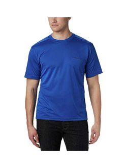 Men's Meeker Peak Short Sleeve Wicking Upf 15 Crew Shirt