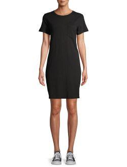 Women's T-shirt Dress With Pocket