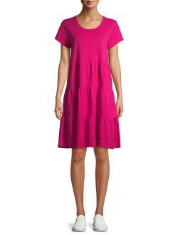 Women's Tiered Knit Dress