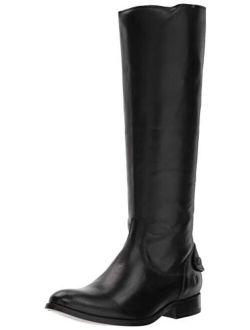 Women's Melissa Button Back Zip Knee High Boot