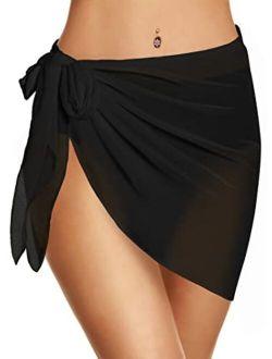 Women's Kimono Cardigans Leopard Print Tops Chiffon Summer Shirts Loose Casual Beach Cover ups