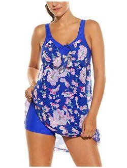 Swimwear Women's One Piece Swimsuit Swim Dress Cover Up Backless Monokini Bathsuit Bikini S-3xl