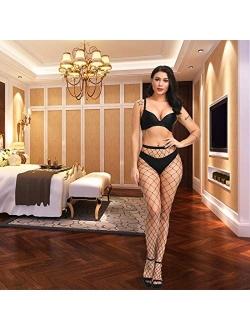 Valila High Waist Tights Fishnet Stockings Thigh High Stockings Pantyhose