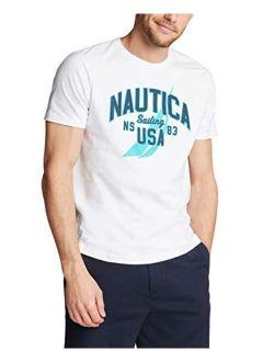 Men's Short Sleeve 100% Cotton Nautical Series Graphic Tee