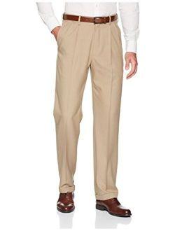 Haggar Men's Big and Tall Big & Tall Premium Comfort Classic Fit Pleat Front Pant