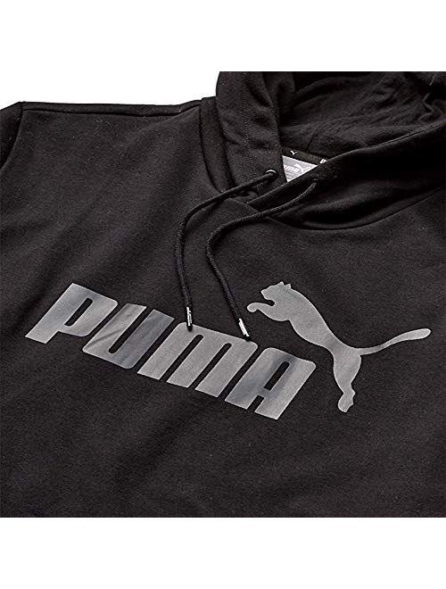 PUMA Men's Essentials Hoody French Terry Big Logo