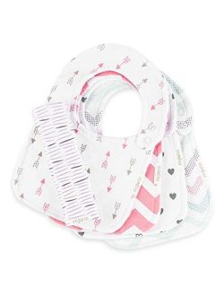 The Ultimate Waterproof Baby Bib by Regaroo - Triple Layer with Softest, Cotton Front & Back Plus Waterproof Inner Layer
