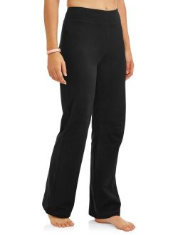 Women's Dri More Core Athleisure Bootcut Yoga Pants Available In Regular And Petite