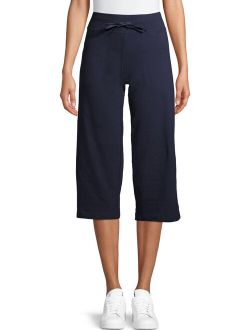 Women's Athleisure Relaxed Capris With Pockets