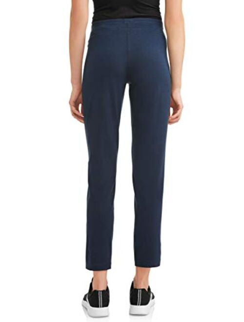Athletic Works Women's Athleisure Core Knit Pant in Regular and Petite