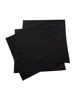 Organic Handkerchiefs Co, Mens Hankies, Organic Cotton, 14 inch, Pack of 3