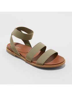 Elastic Ankle Strap Sandals - Universal Thread™