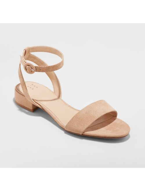 Women's Winona Ankle Strap Sandal - A New Day™