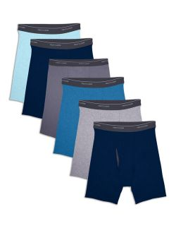 Men's Coolzone Fly Assorted Boxer Briefs, 6 Pack
