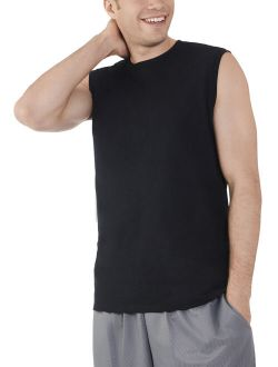 Men's And Big Men's Dual Defense Upf Muscle Shirt, Up To Size 4x