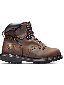 """Pro Men's 6"""" Pitboss Steel Toe Work Boot Shoes"""
