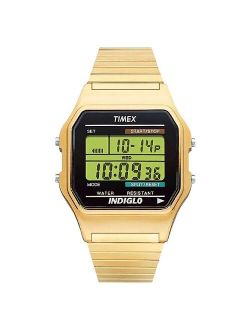 Timex Classic Digital Expansion Band Watch - Gold T786779j