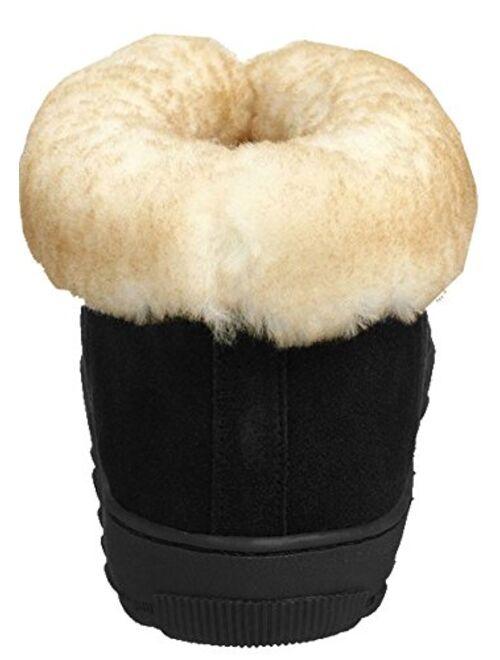 Tamarac by Slippers International Men's Highlander Shearling Slipper