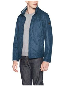 Men's Classic Fit Embroidered Levy Bomber Jacket