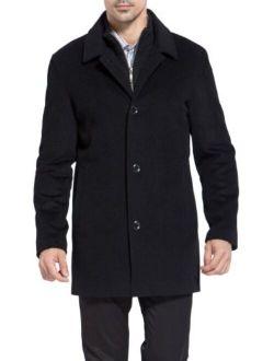 MODERM Men's Justin Cashmere Blend Car Coat (Regular and Big and Tall)