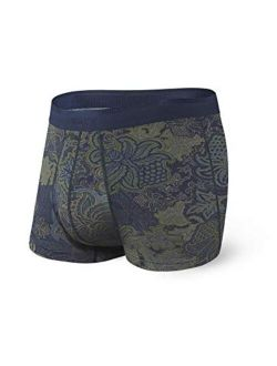 Underwear Men's Trunk Underwear Platinum Mens Underwear Trunk Briefs With Built-in Ballpark Pouch Support