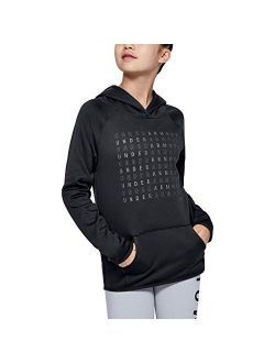 Girls Armour Fleece Logo Hoodie
