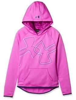 Girls Armour Fleece Dl Logo Hoodie