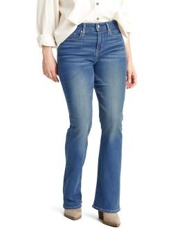 Women's Shaping Mid Rise Bootcut Jeans