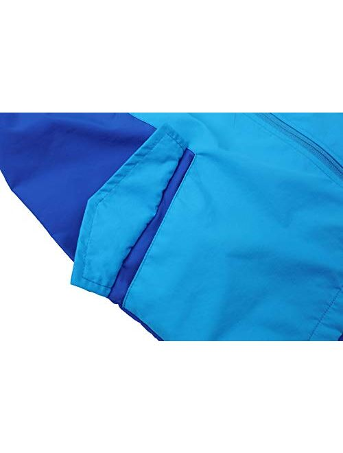 Jingle Bongala Boys' Girls' Rain Jacket Lightweight Windbreaker