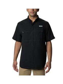Mens Pfg Low Drag Offshore Short Sleeve Shirt