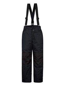 Mountain Warehouse Raptor Kids Snow Ski Pants - Detachable Suspenders