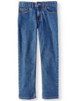 Boys Straight Jeans Sizes 4-16 & Husky