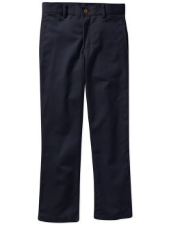 Boys School Uniform Flat Front Twill Pant With Scotchguard (little Boys & Big Boys)