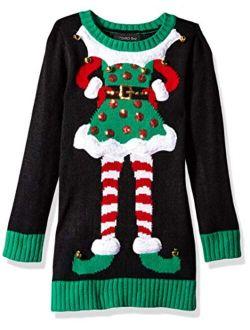 Girls Ugly Chrismas Sweater Tunic