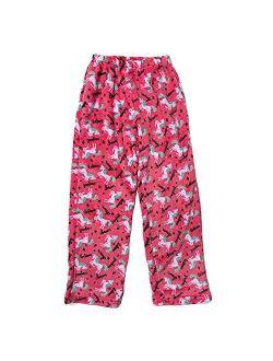 Popular Girl's Fuzzy Fleece Plush Pajama Pants