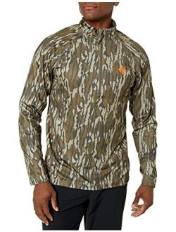 Nomad mens Transition 1/4 Zip   Thermo-regulating & Quick Drying Performance Hunting Shirt