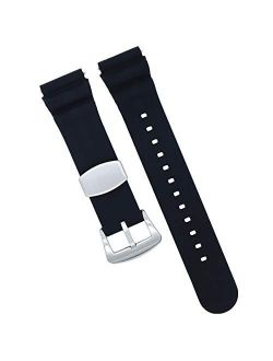 MOD 18mm 20mm 22mm Watch Band - Quick Release - Soft Silicone Replacement Watch Straps - Color Variations - for Men and Women