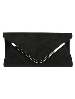 Girly Handbags Envelope Clutch Bag