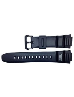 Ne Casio Replacement Watch Strap 10302043 For Casio Watch Ae-2000w-1avh, Wv-200a-1avd + Other Models