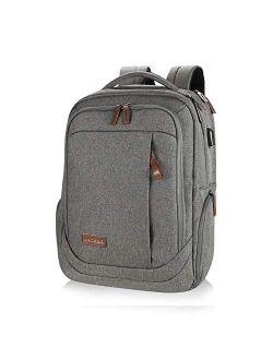 KROSER Laptop Backpack Water-Repellent Large Computer Backpack School Bag