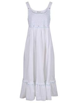 The 1 for U Nightgown 100% Cotton Sleeveless Womens Gown Paige