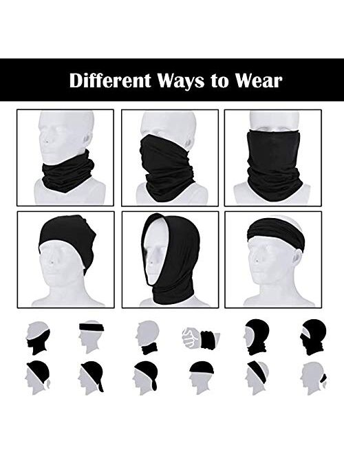 X-CHENG Scarf Balaclava Mask-Neck Gaiter Scarf Mask Sunscreen Breathable Bandanas mask
