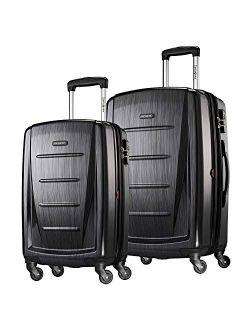Solid Zipper Closure Travel Bag