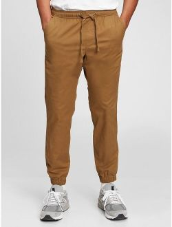 M Canvas Joggers With Gapflex