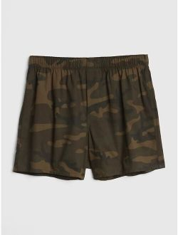Men's Cotton Camouflage Print Boxers