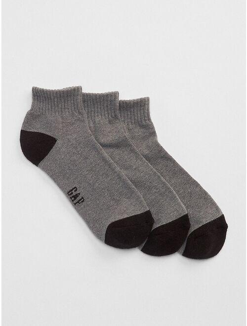 GAP Quarter Crew Socks (3-Pack)