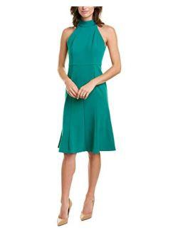 Women's Midi-length Halter Dress