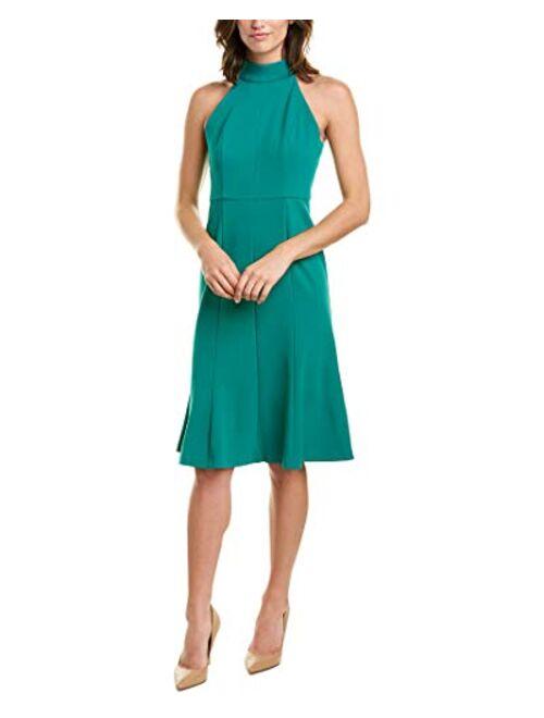 Donna Morgan Women's Midi-Length Halter Dress