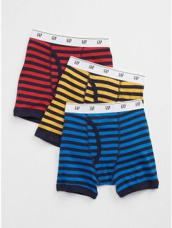 Hanes Boys 7-Pack Dyed Briefs Boxer Briefs