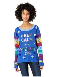 Women's Hanukkah Sweater